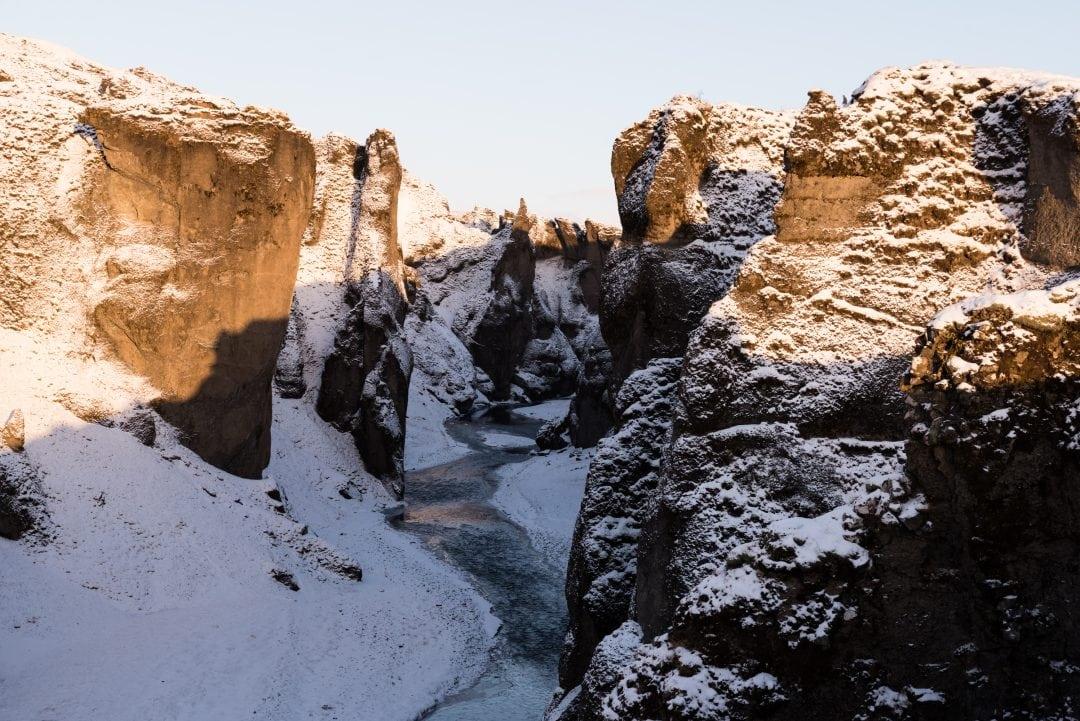 Le Fjadrargljufur Canyon