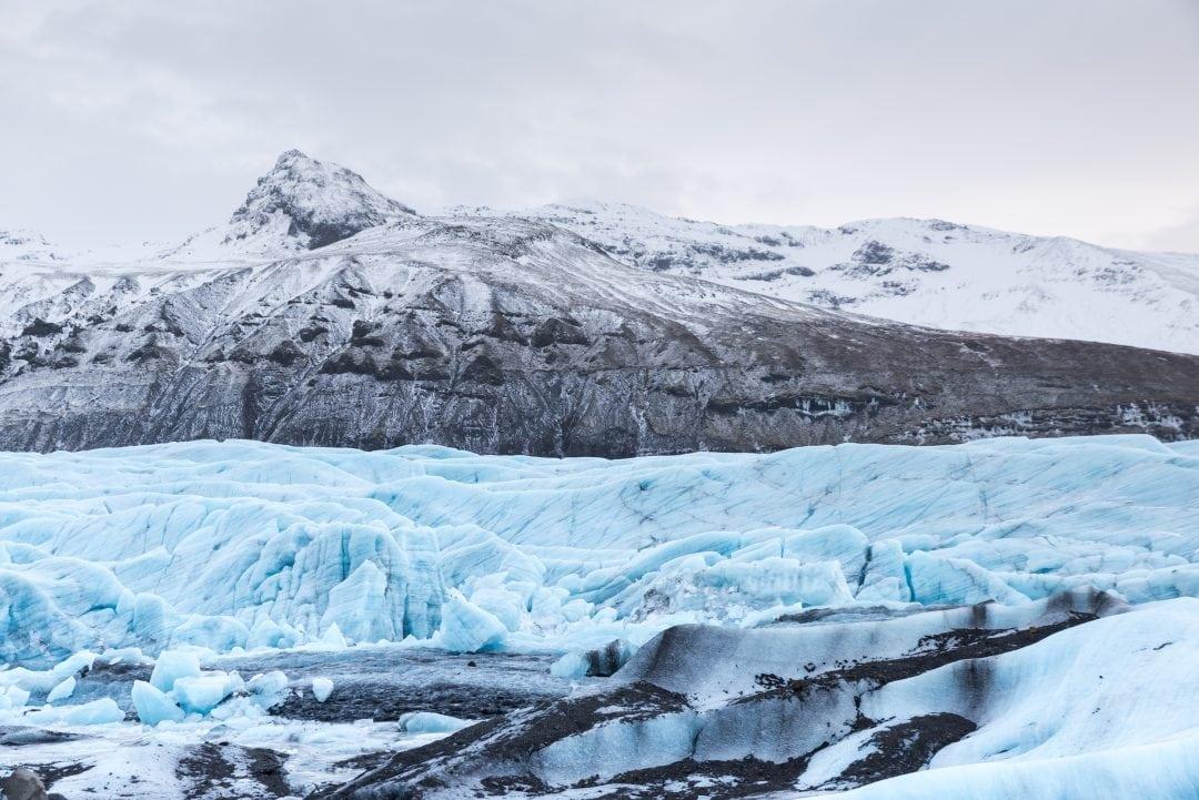 Glacier Svinafellsjokull