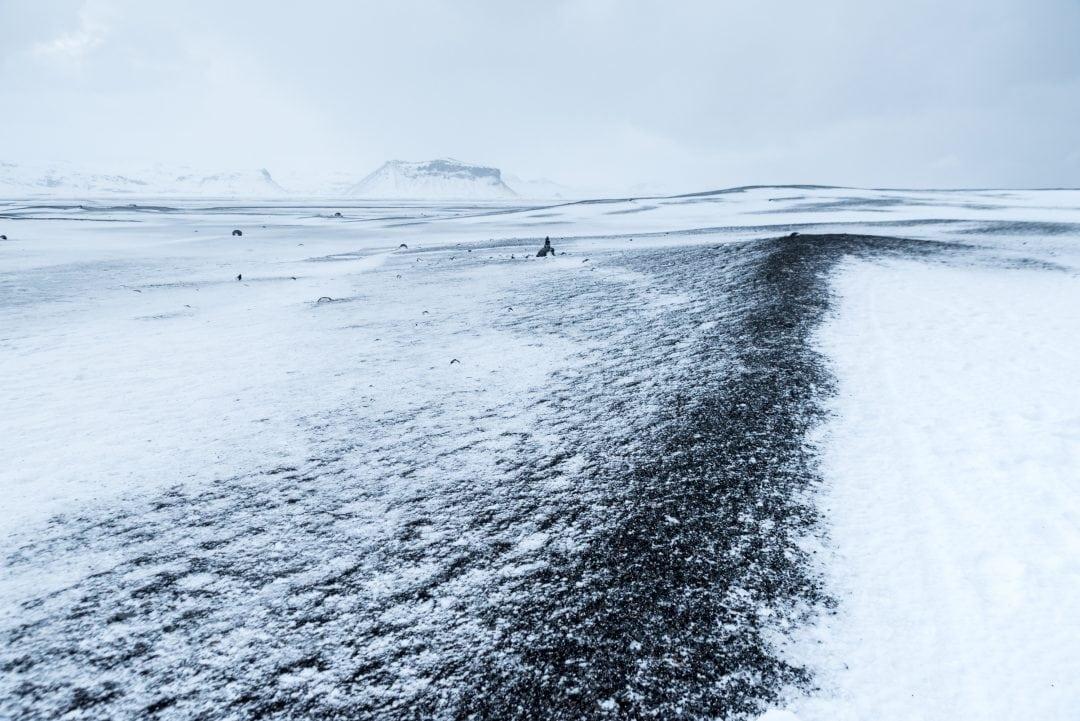 Plage de Sólheimasandur en Islande