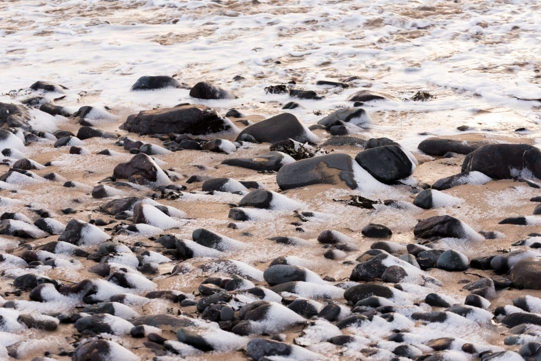 la plage d'Ytri-Tunga