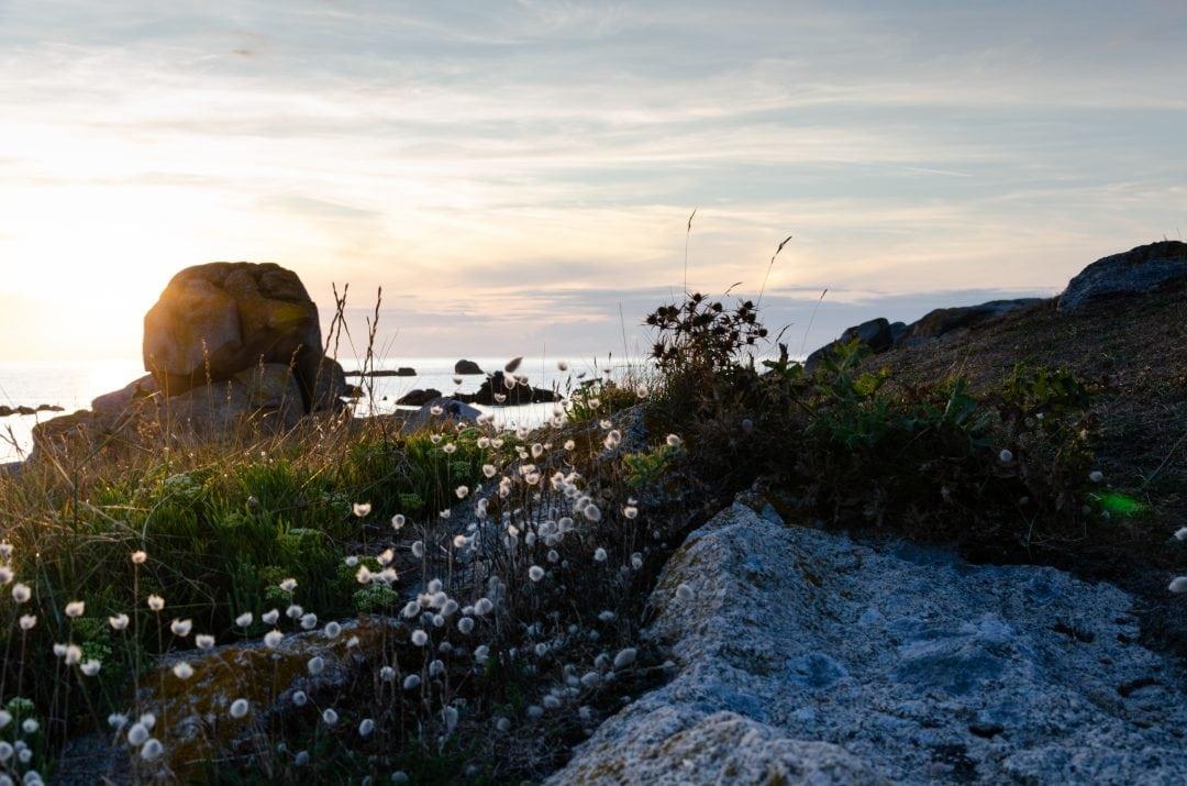 Coucher de soleil dans le Finistère