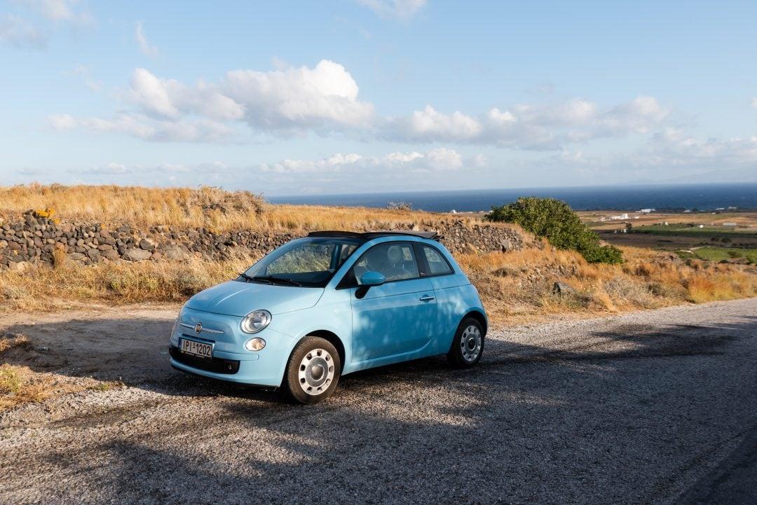 Location de voiture à Santorin