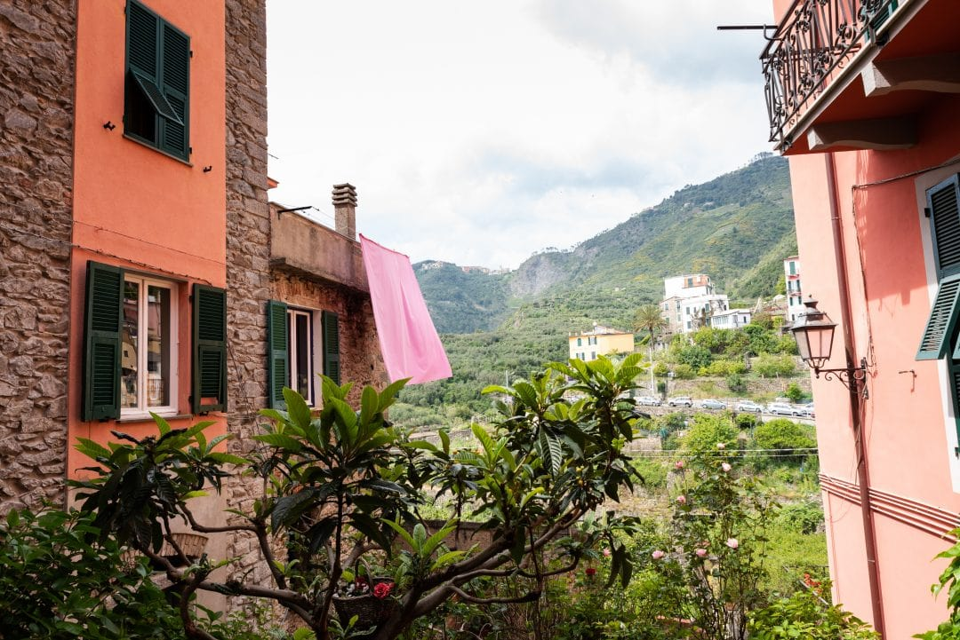 Village de Corniglia au Cinque Terre