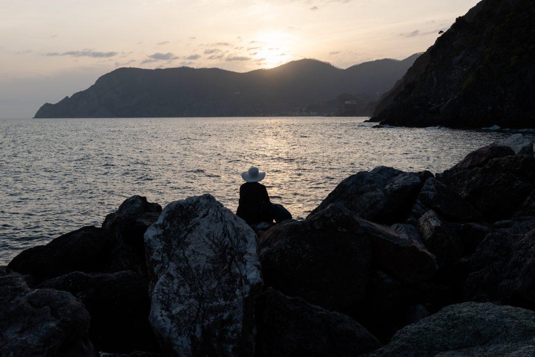 Coucher de soleil au Cinque Terre