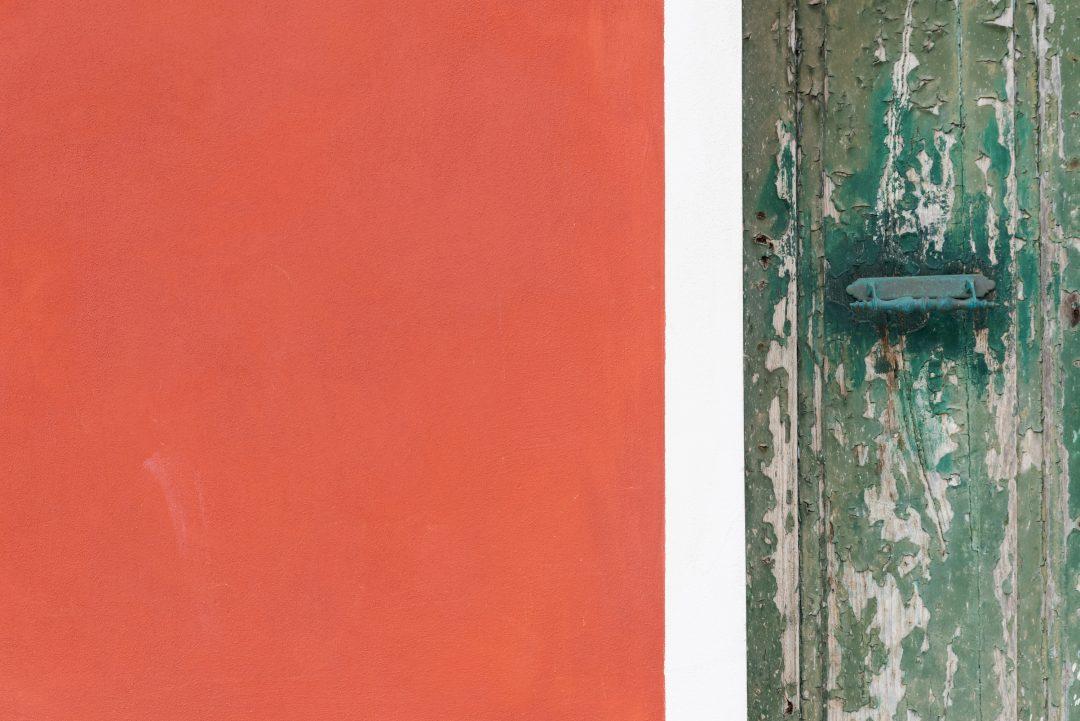 Porte colorée village de Riomaggiore