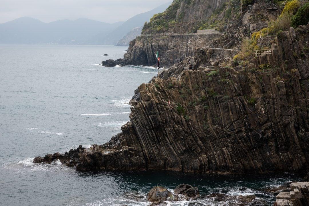 Falaises au Cinque Terre