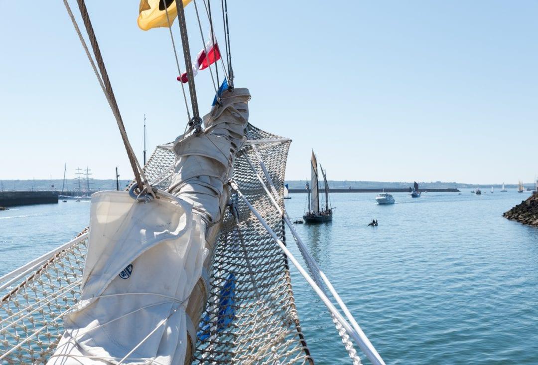 Vieux gréement fête maritime de Brest