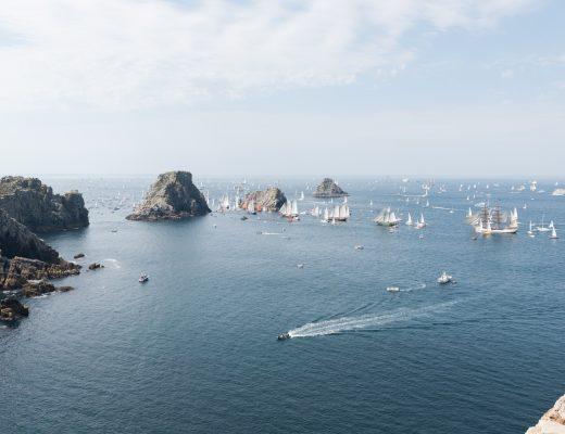 Parade de la mer depuis les Tas de Pois