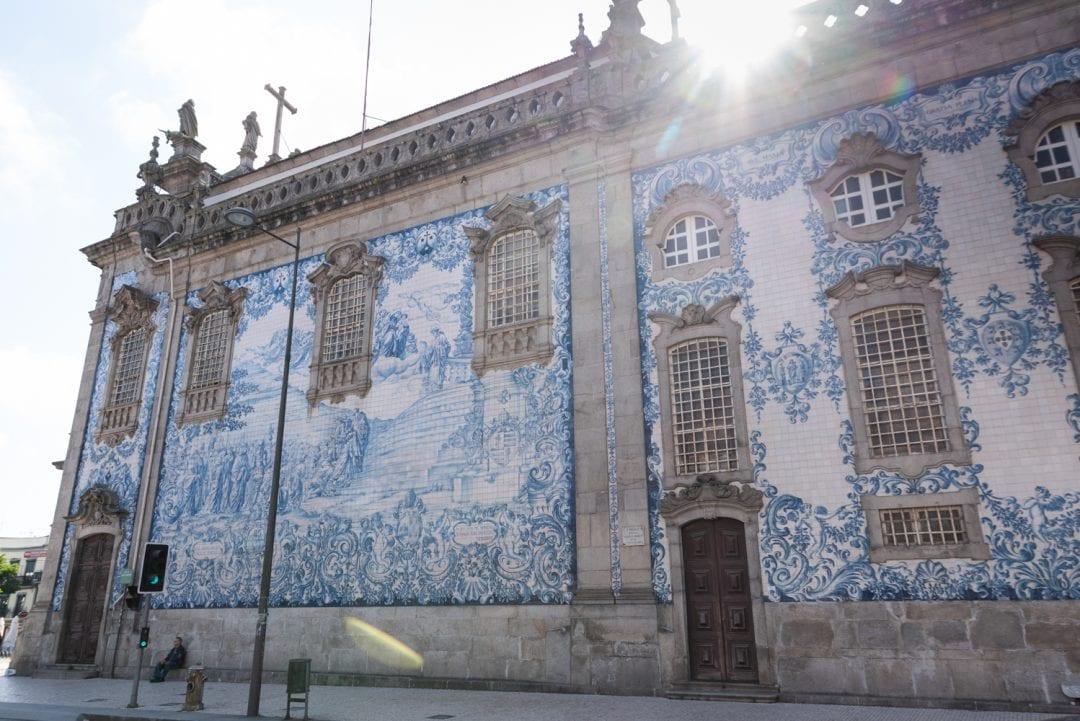 Igrejas Carmelitas Carmo à Porto portugal