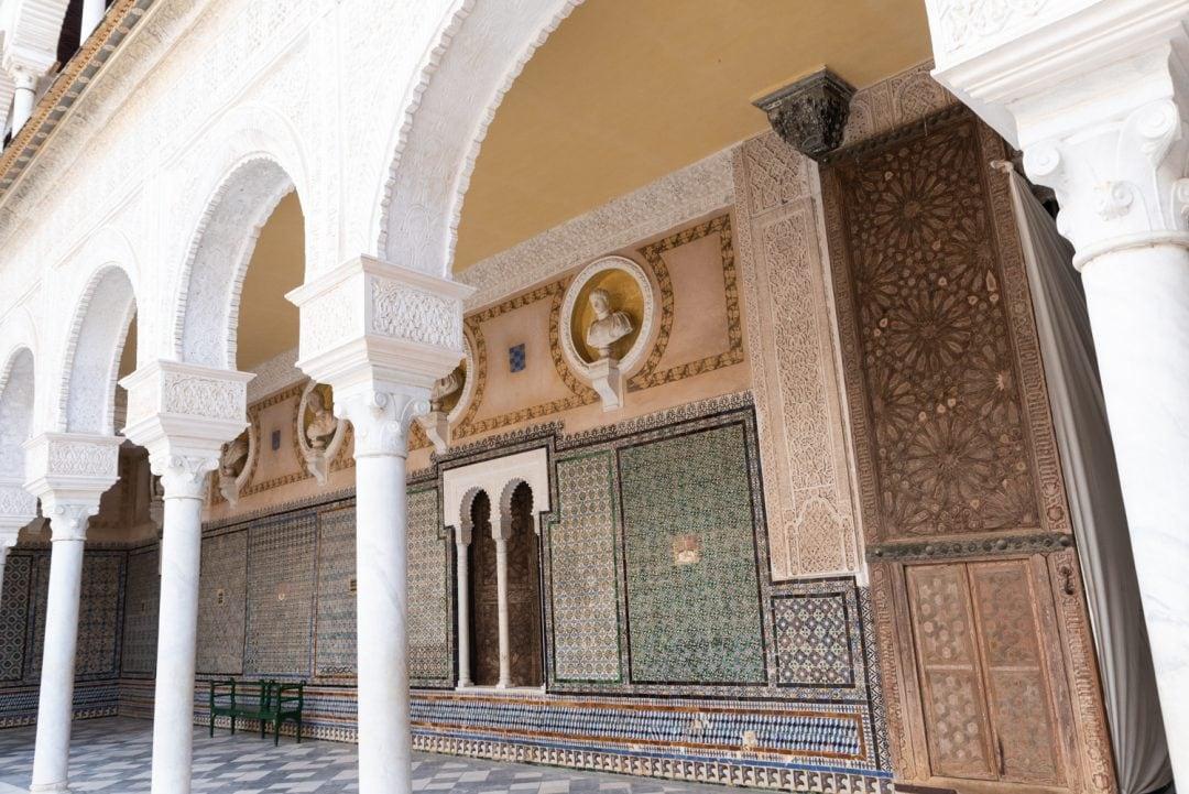 architecture la casa de pilatos séville