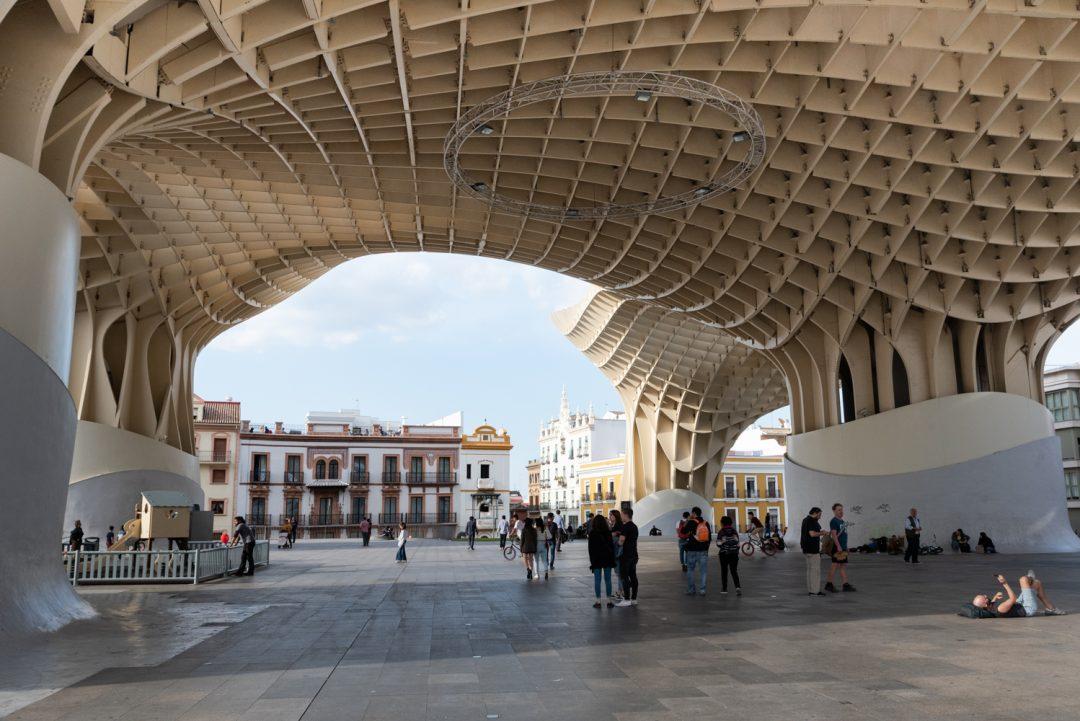 El Metropol Parasol à Séville