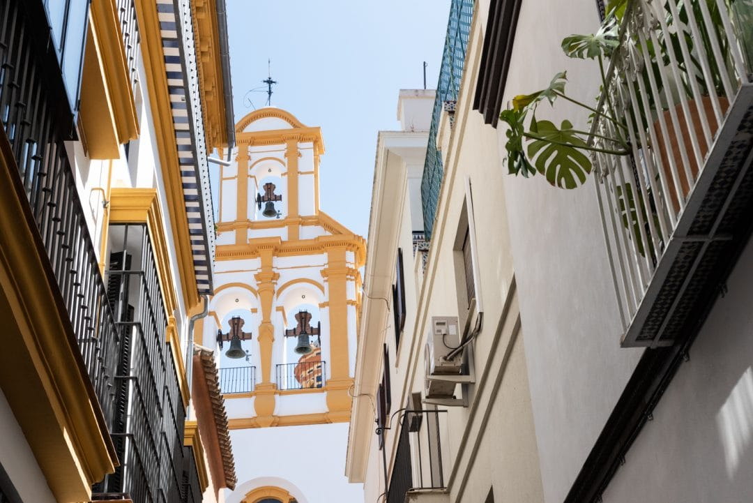 Ruelle Santa Cruz à Séville