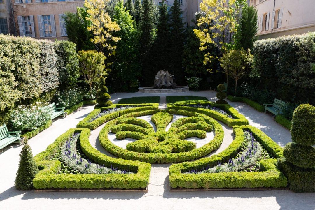 Jardins hôtel Caumont