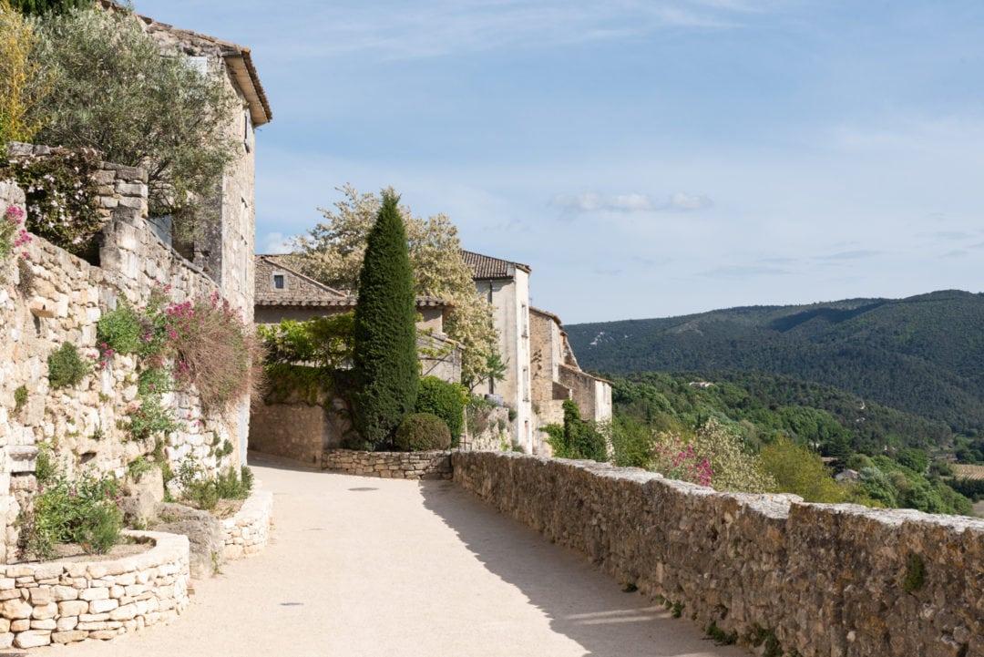 ruelle du village de Ménerbes