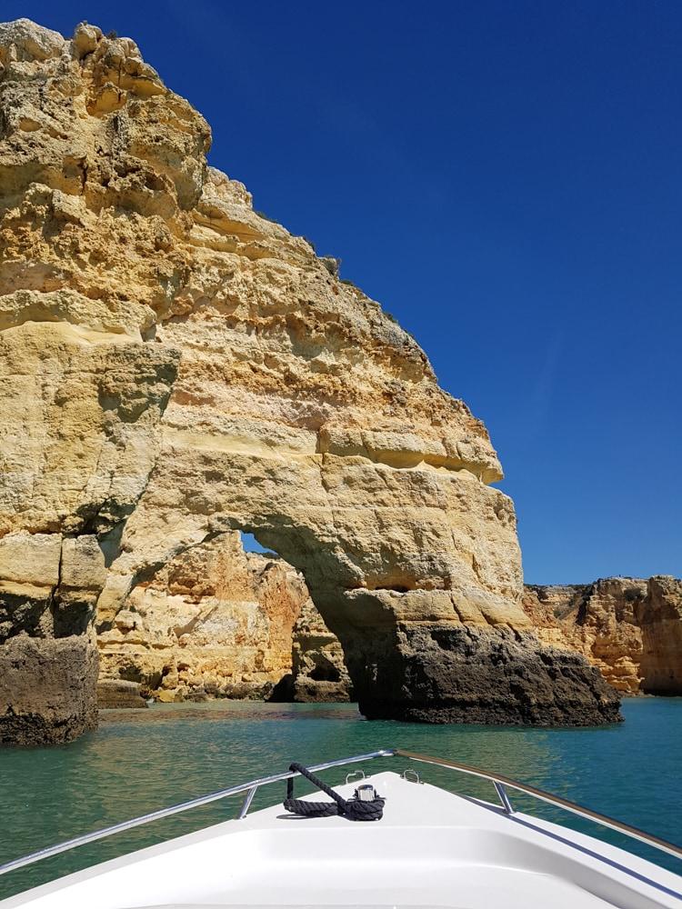 balade en bateau Algarve