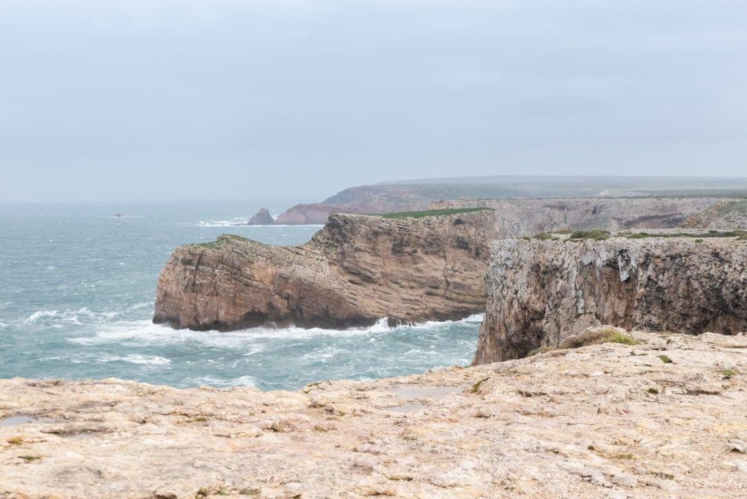 Cap Saint-Vincent en Algarve