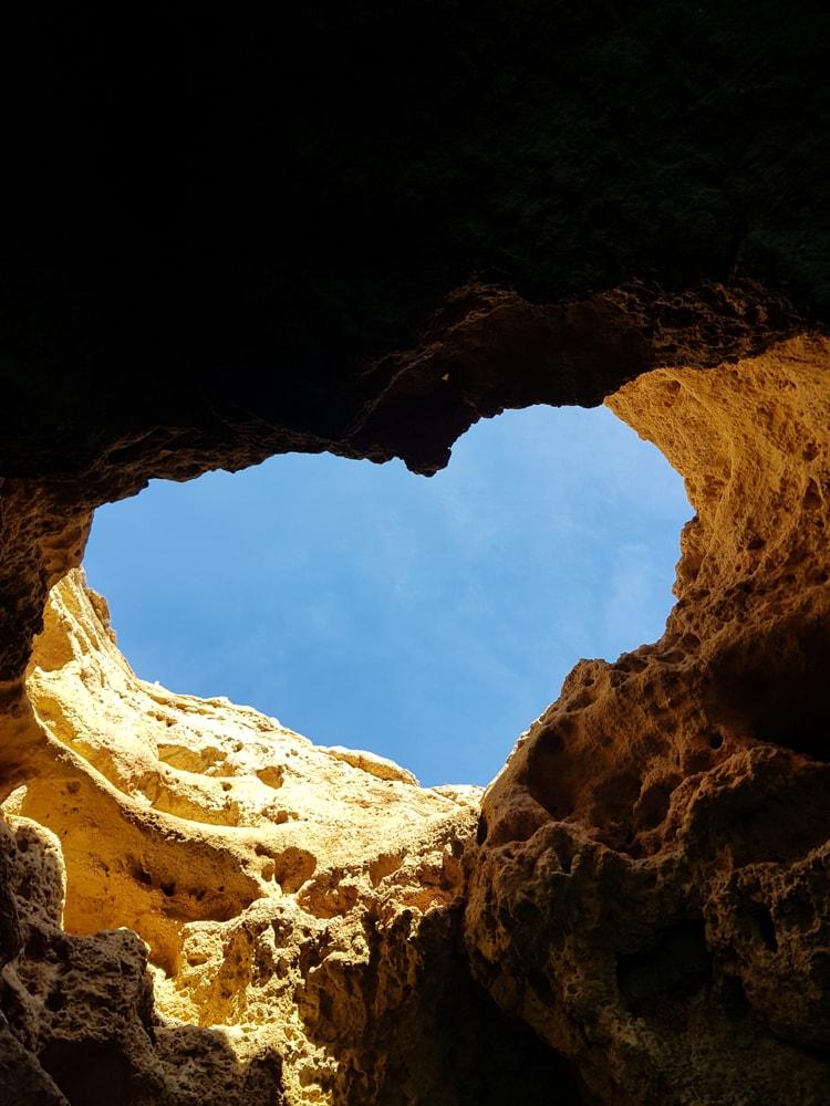 coeur grotte Algarve