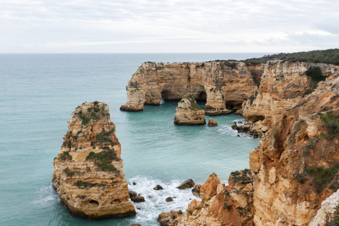 Praia di Marinha en Algarve