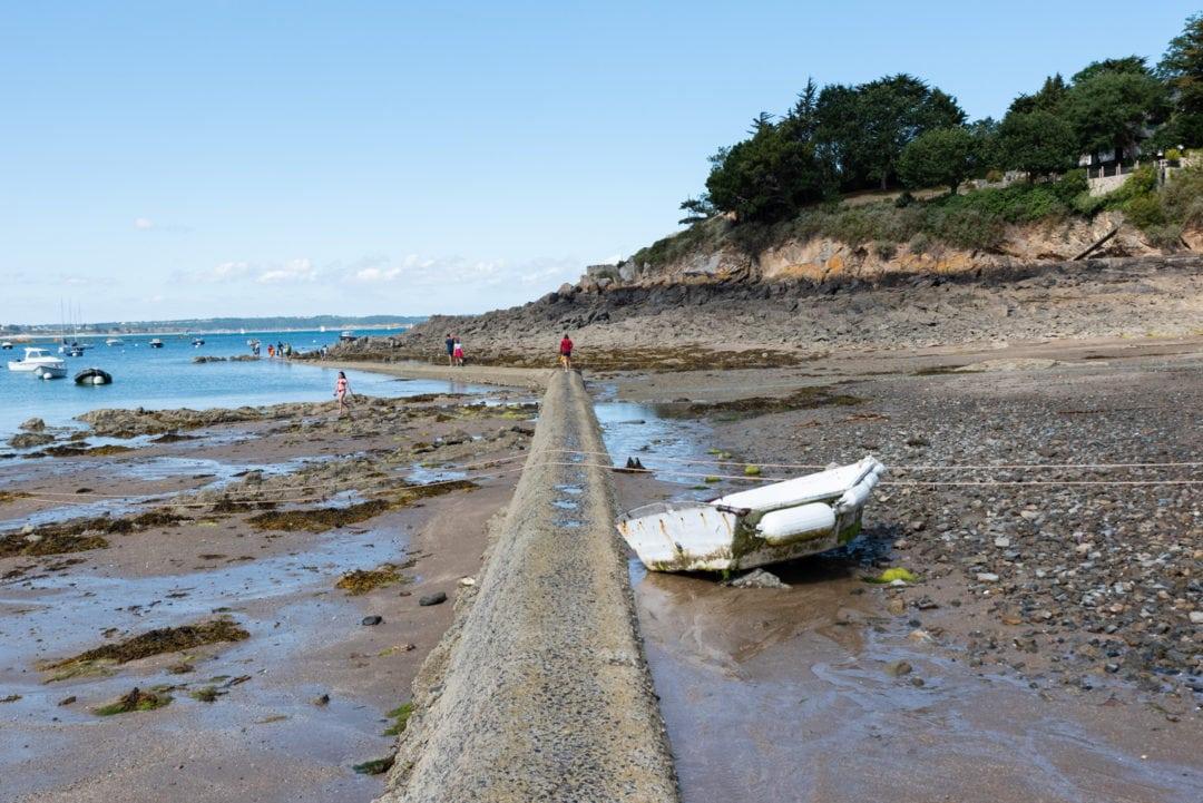 Plage marée basse Saint-Briac-Sur-Mer