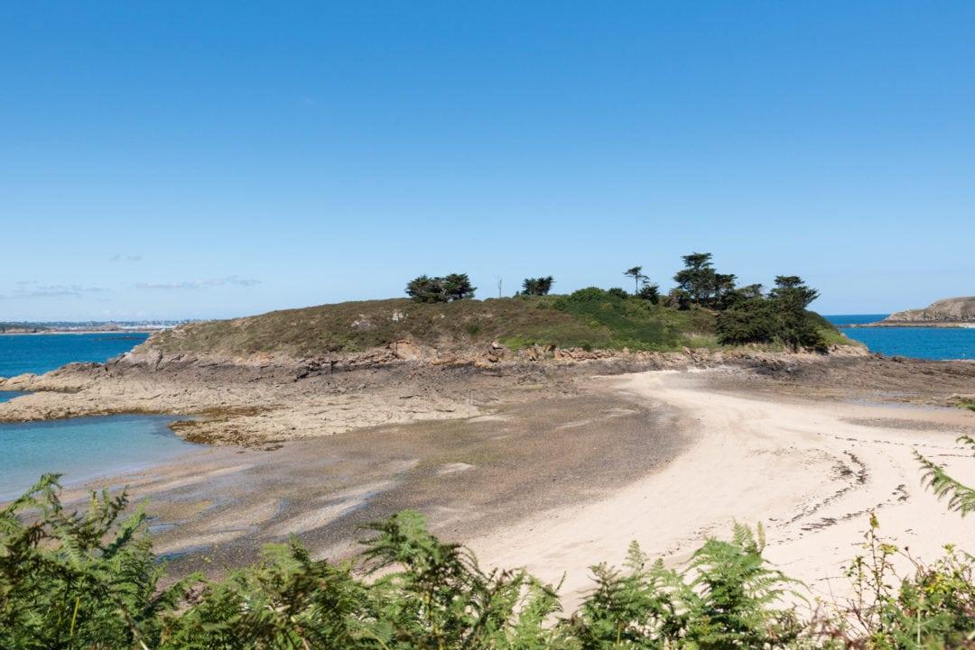 plage du perron à Saint-Briac-Sur-Mer