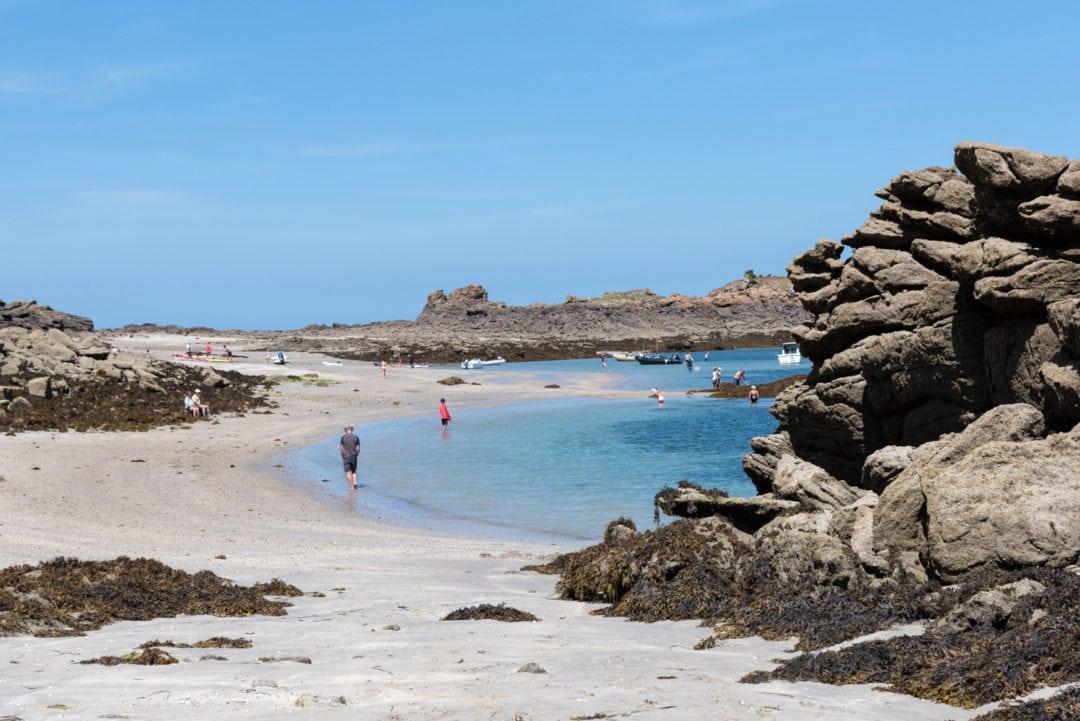 archipel des Ebihens plage