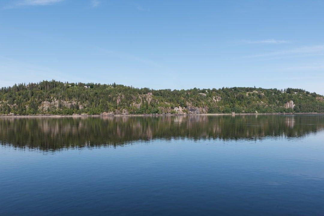 Rivière Saguenay à Chicoutimi