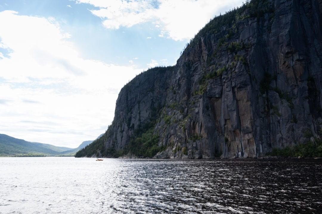 Croisière sur le fjord de Saguenay