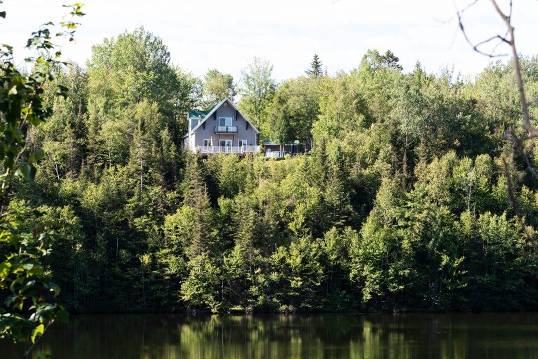 maison typique route du fjord Québec