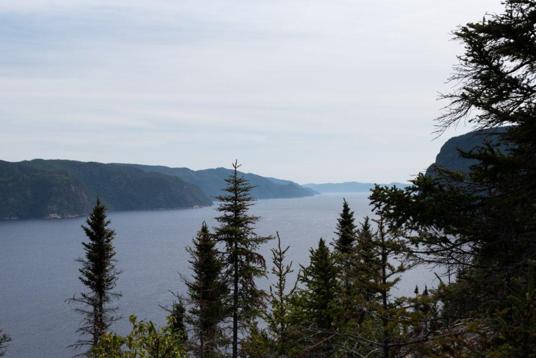 Parc national du Fjord de Saguenay randonnée du sentier de la statue
