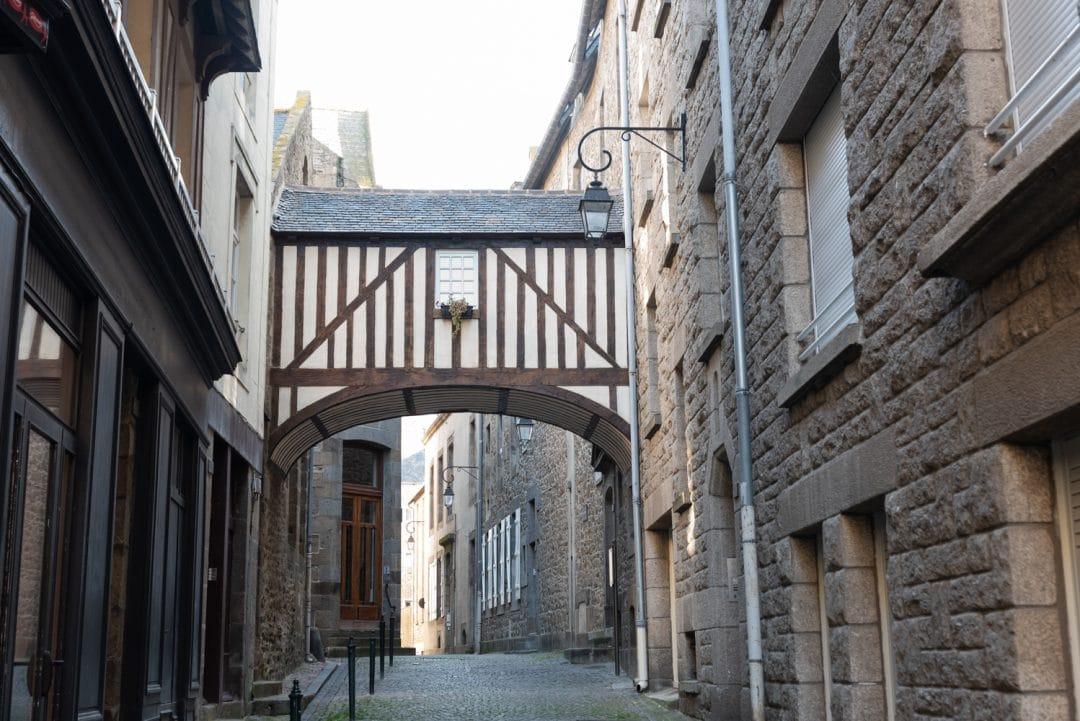 Ruelle dans Saint-Malo Intra-Muros