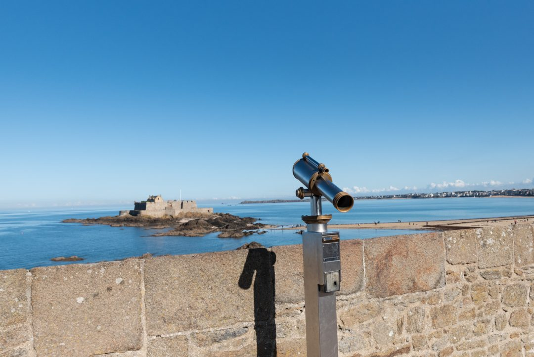 Vue sur le Fort National de Saint-Malo