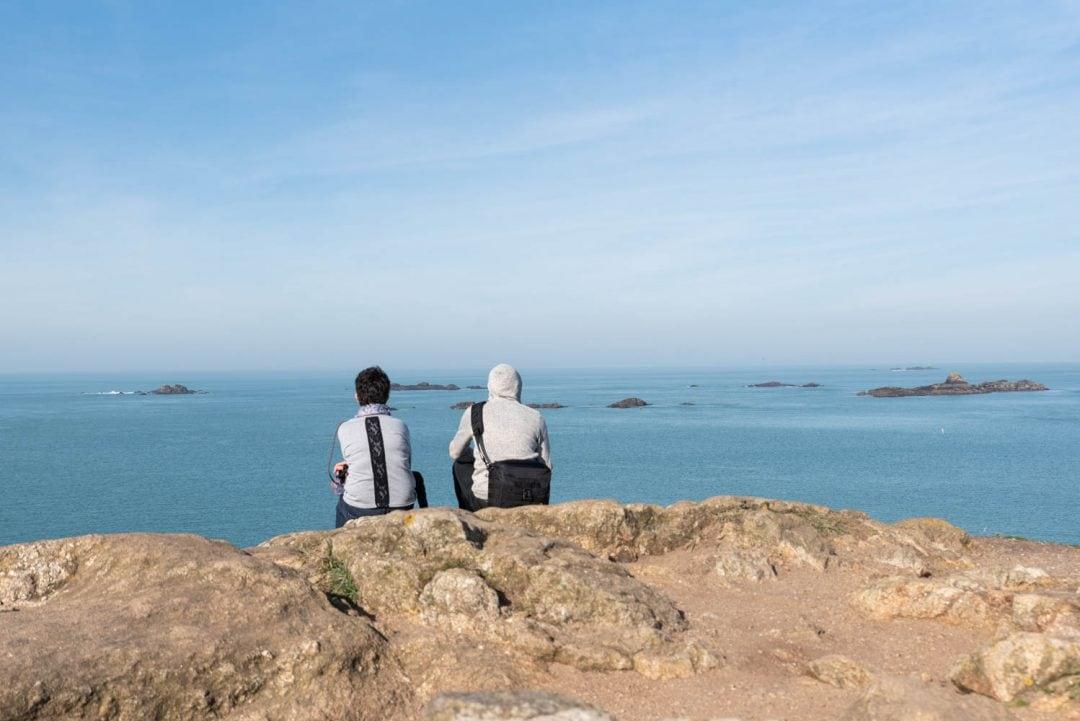vue sur la baie de saint-malo