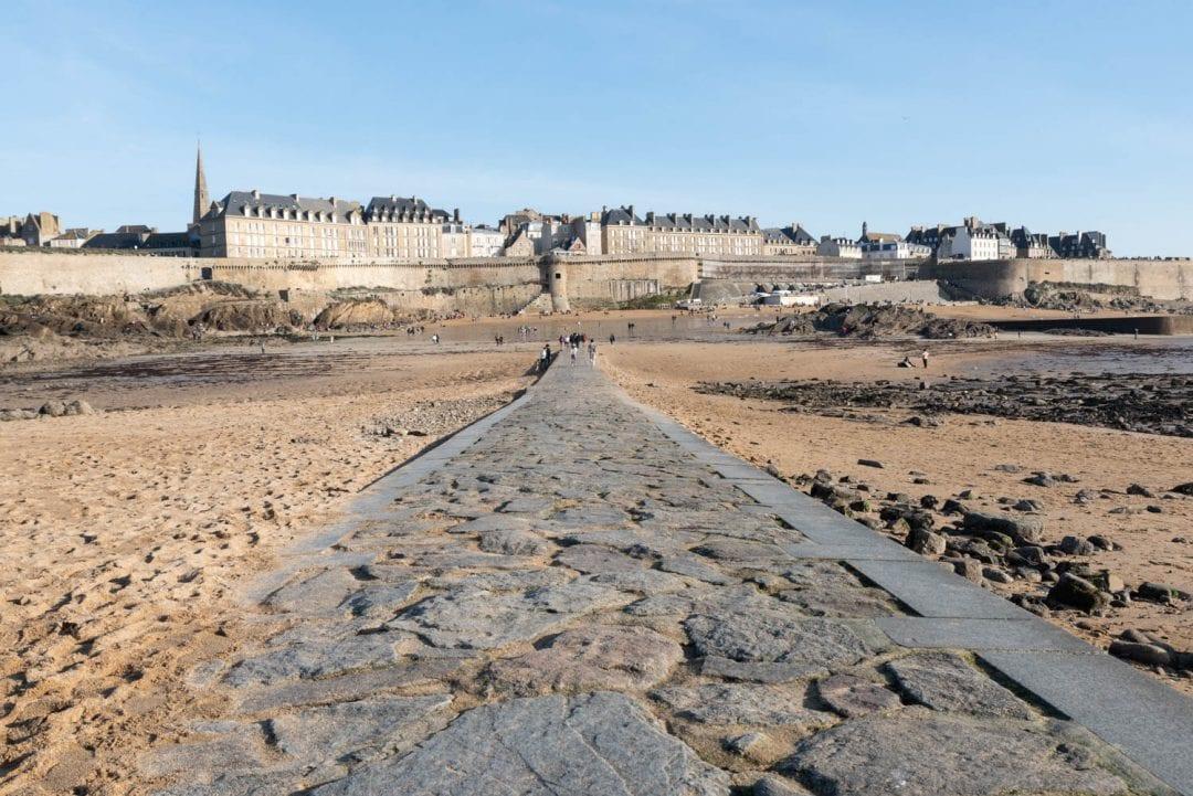 Vue sur Saint-Malo Intra-Muros