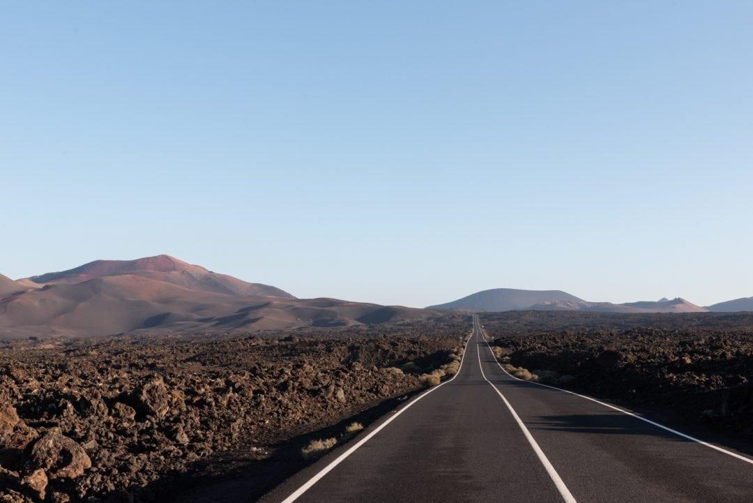 route à lanzarote
