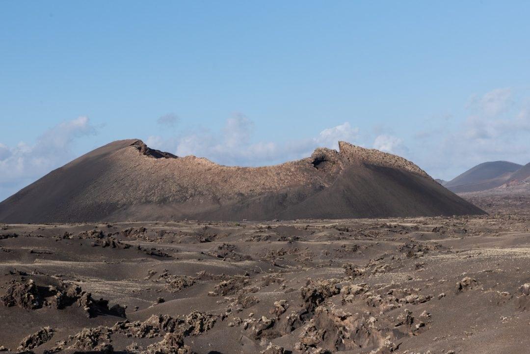 La Montaña del Cuervo à Lanzarote