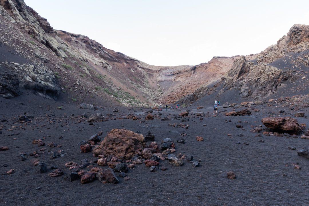 Cratère du Volcan del Cuervo