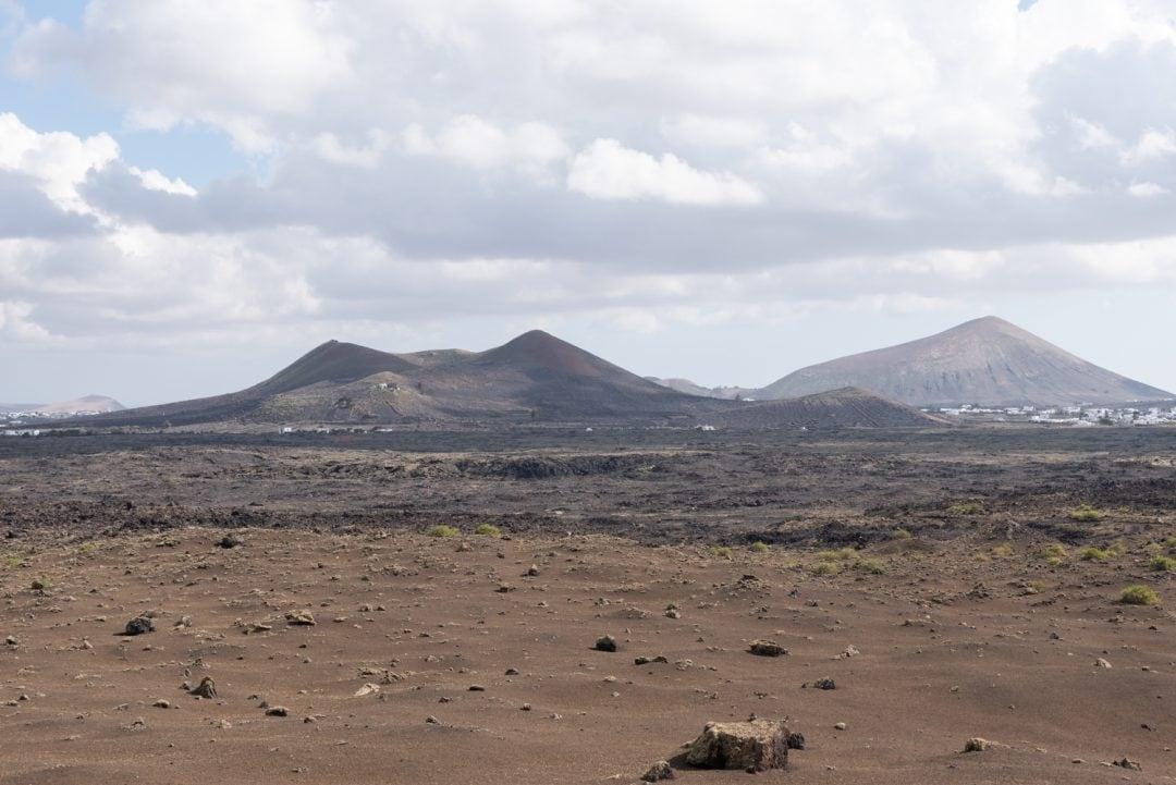 paysage volcanique lanzarote