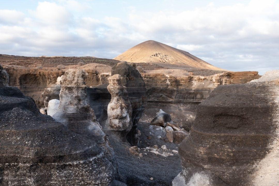 Paysage lunaire de Lanzarote