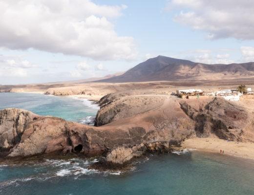 Papagayo île de Lanzarote