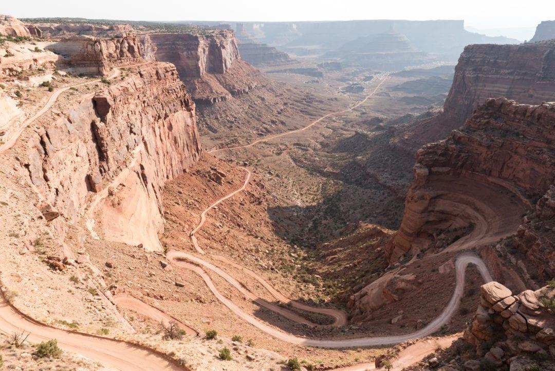paysage lunaire de l'ouest américain