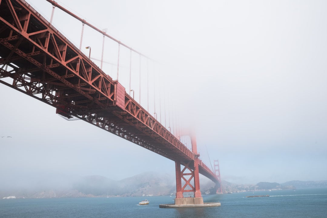 Le pont du Golden Gate à San Francisco