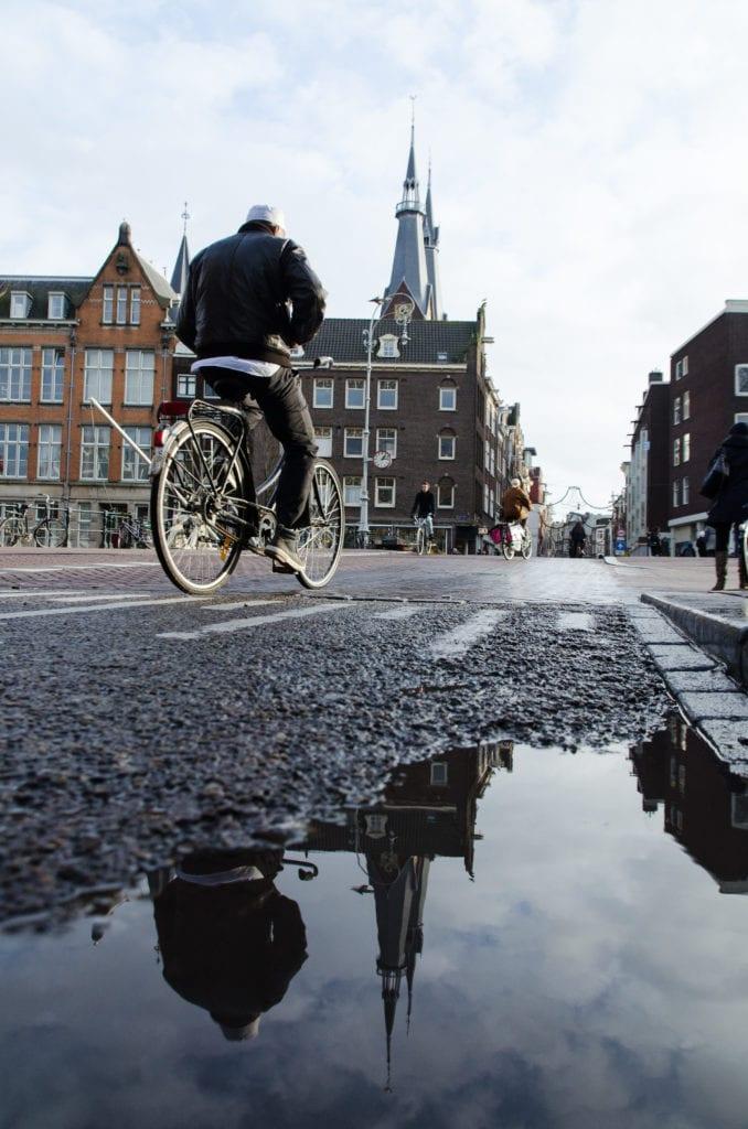 Amsterdam à vélo