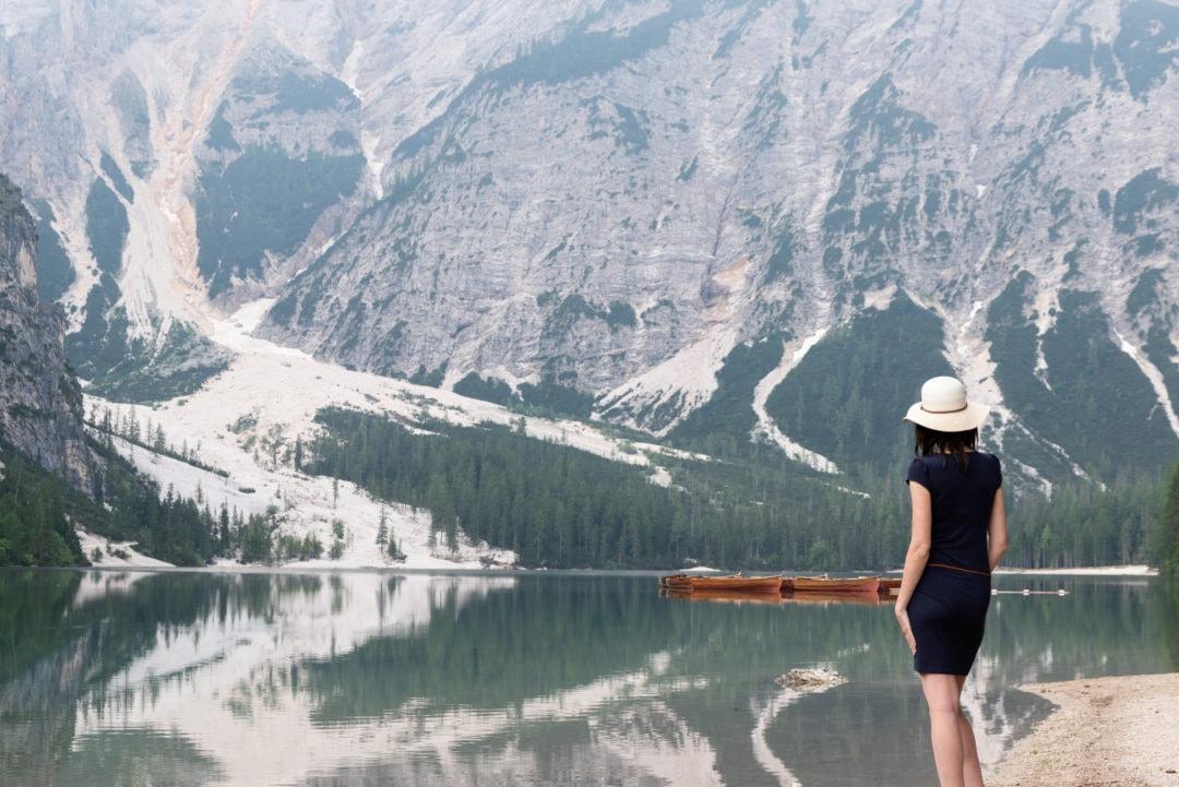 Voyager Enceinte de 5 mois dans les Dolomites